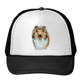 Collie (rough) Mom 2 Mesh Hats