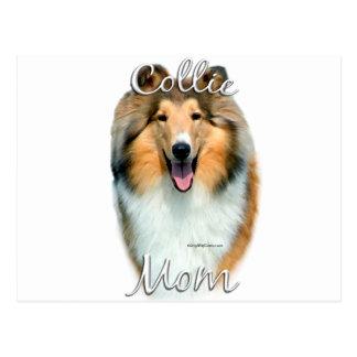 Collie (rough) Mom 2 Postcard