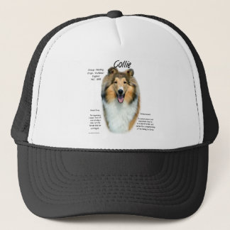 Collie (sable rough) History Design Trucker Hat
