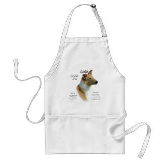 Collie (sable smooth) History Design Standard Apron