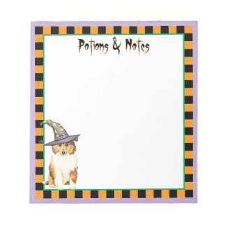 Collie Witch Notepad