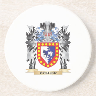 Collier Coat of Arms - Family Crest Coaster