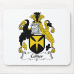 Collier Family Crest Mouse Mat