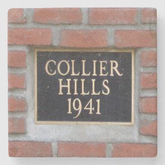 Collier Hills, Atlanta, Marble Coasters