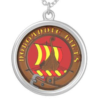 Collier Normandie Kilts Round Pendant Necklace