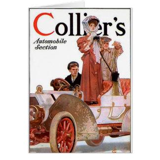 Collier's 1907 - J.C. Leyendecker, illustrator Card