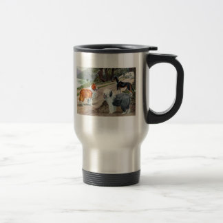 Collies and Old English Sheepdog Mug