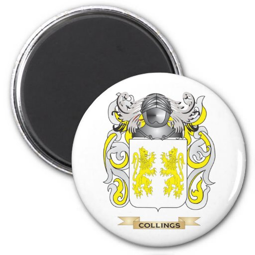 Collings Coat of Arms Refrigerator Magnet