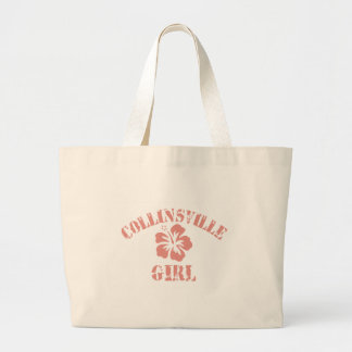 Collinsville Pink Girl Canvas Bags