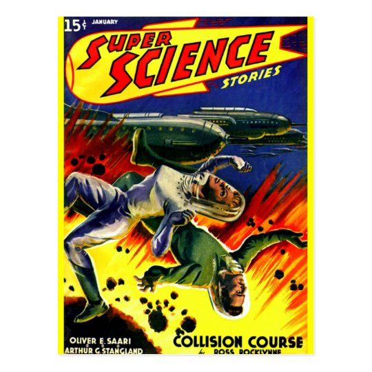 Collision Course! Postcard