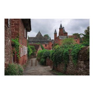 Collonges-la-Rouge, the red village photo print