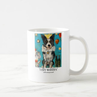 'colly wobbles' coffee mug