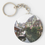 Colmar France Basic Round Button Key Ring