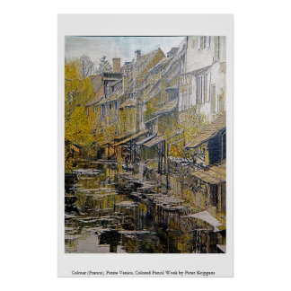Colmar (France), Petite Venice Poster