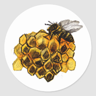 Colmena Classic Round Sticker