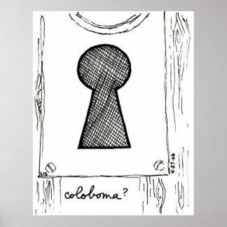 Coloboma print