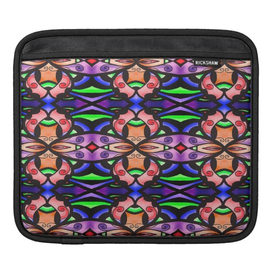 Coloful design Ipad sleeve