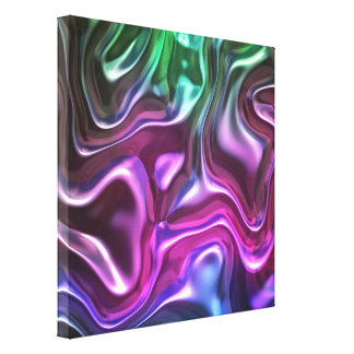 Coloful Metal Canvas Canvas Prints