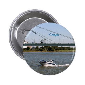 Cologne 6 Cm Round Badge
