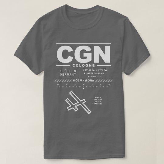 Cologne Bonn Airport CGN T-Shirt