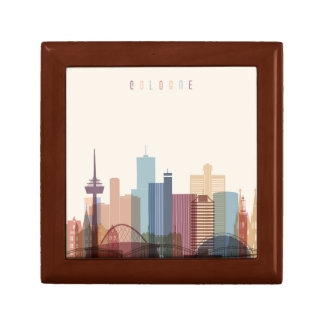 Cologne, Germany | City Skyline Gift Box