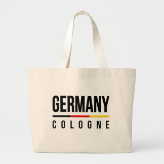 Cologne Germany Large Tote Bag