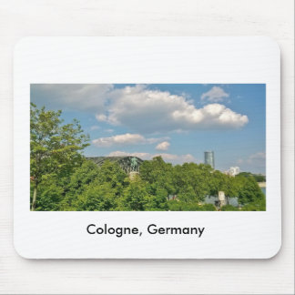 Cologne Germany Mouse Pad