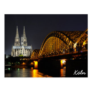 Cologne, Germany Postcard