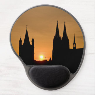 Cologne, Germany sunrise Gel Mouse Pad
