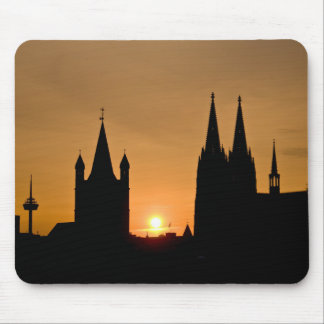 Cologne, Germany sunrise Mouse Pad