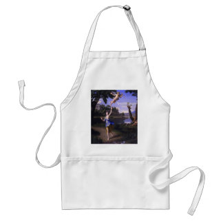 Colombel Cupid and Psyche painting love peace  joy Standard Apron