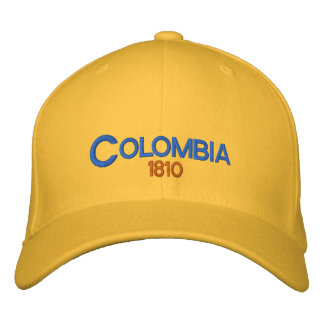 Colombia 1810 Adjustable Hat Embroidered Hats