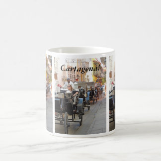 Colombia-Carriage Ride in Cartagena Customizable Coffee Mug