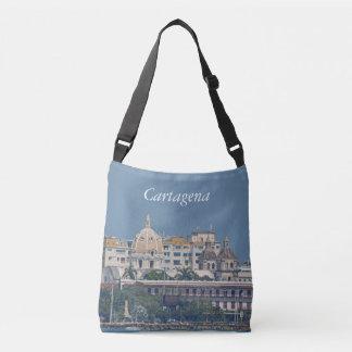 Colombia-Cartagena Waterfront Crossbody Bag