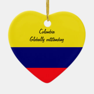 Colombia Ceramic Heart Decoration