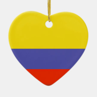 Colombia Ceramic Heart Decoration