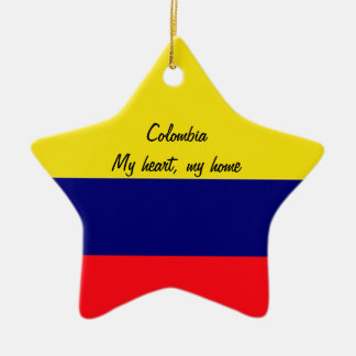 Colombia Ceramic Star Decoration
