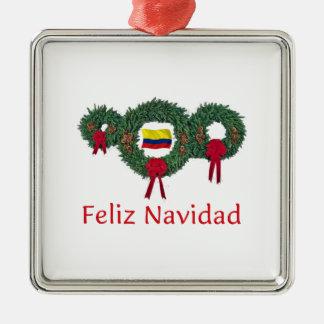 Colombia Christmas 2 Christmas Ornament