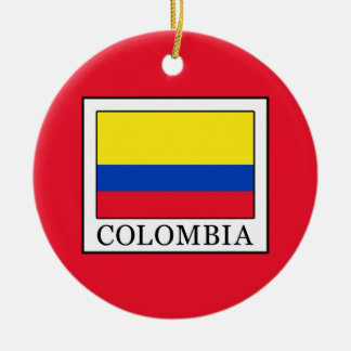 Colombia Christmas Ornament