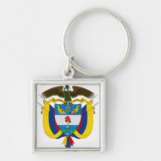 Colombia Coat of arms CO Key Ring