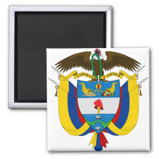 Colombia Coat of arms CO Magnet