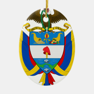 Colombia Coat of Arms Ornament