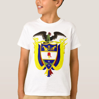 Colombia Coat of Arms detail T-Shirt