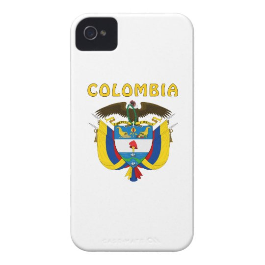 Colombia Coat Of Arms iPhone 4 Case-Mate Cases