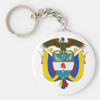 Colombia Coat of Arms Keychains