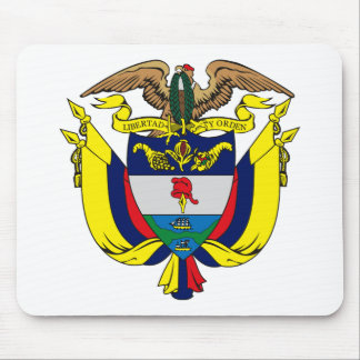 Colombia Coat of Arms Mousepad