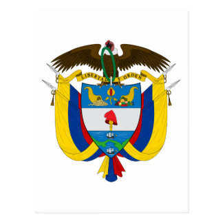 Colombia Coat of Arms Postcard