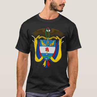 Colombia Coat of Arms Shirts