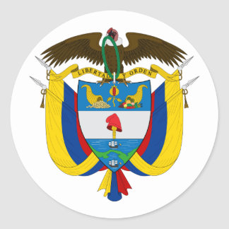 Colombia Coat of Arms Sticker