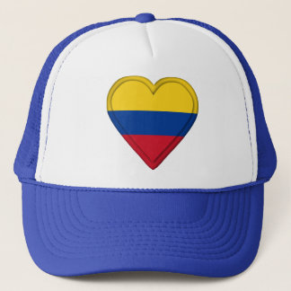 Colombia Colombian Flag Trucker Hat